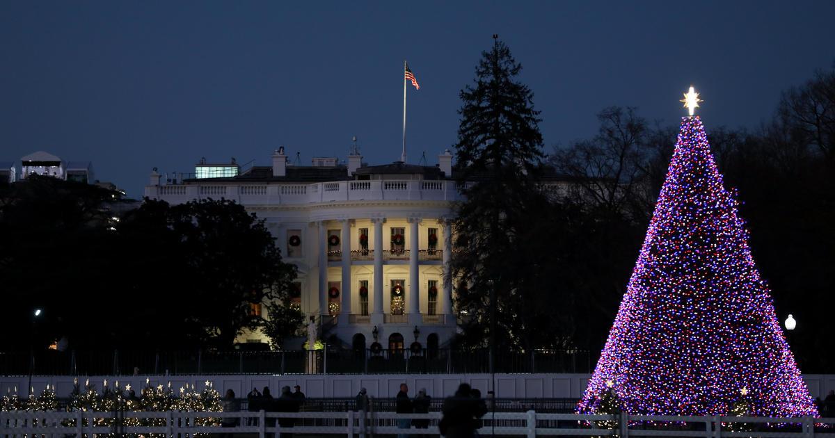 Franklin Christmas Tree Lighting 2021 Watch The 98th Annual National Christmas Tree Lighting Cbs News