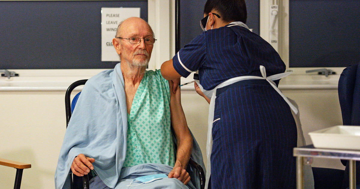 William Shakespeare, first man in the U.K. to receive COVID-19 vaccine, has died of a stroke at 81