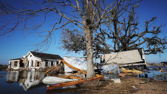 Hurricane Delta Takes Aim At Louisiana's Gulf Coast