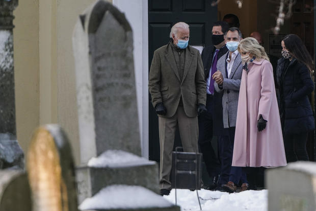 President-Elect Biden Visits Grave Of Deceased First Wife Neilia