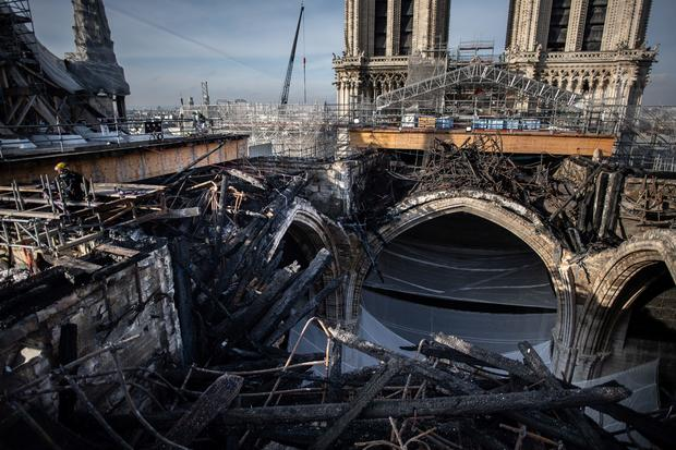 FRANCE-HERITAGE-RELIGION-NOTRE-DAME-FIRE