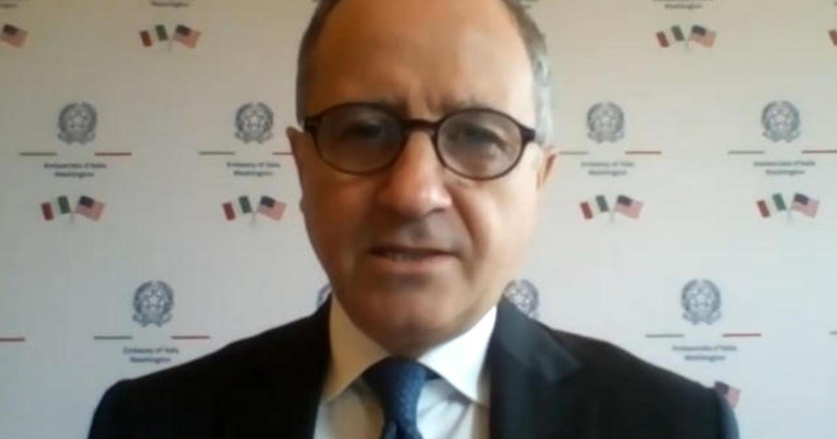 Italy's ambassador to the U.S. on