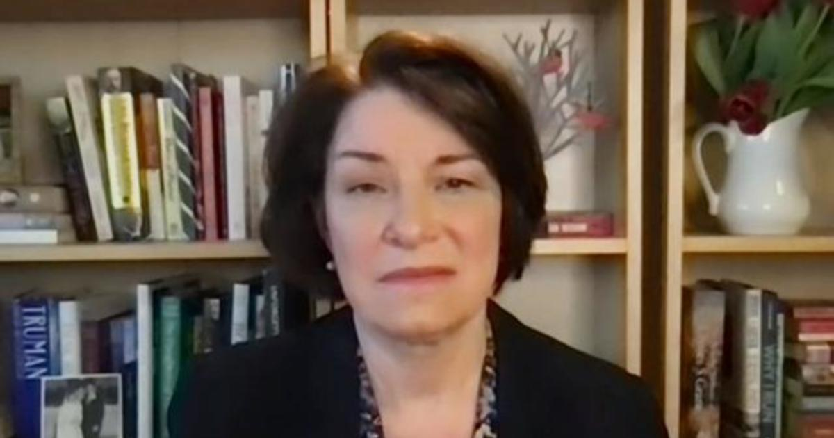 """Klobuchar: Mob at Capitol a """"tipping point"""" for Trump's supporters"""