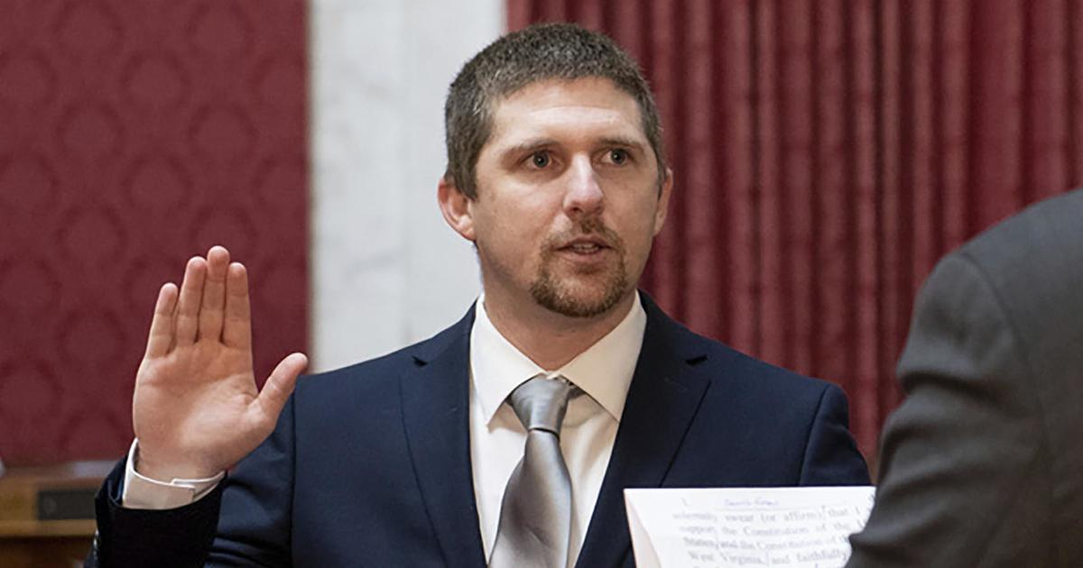 """West Virginia lawmaker records himself storming the U.S. Capitol: """"We're in!"""""""