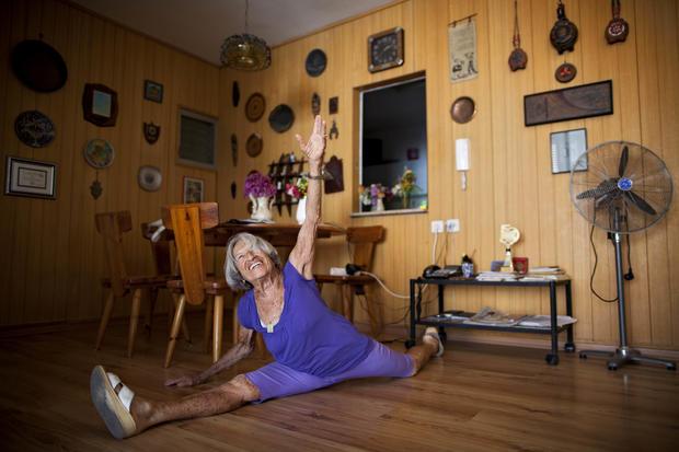 Mideast Israel Olympic Elder