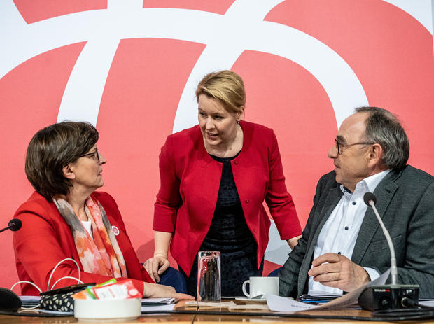 Closure of the SPD party executive committee