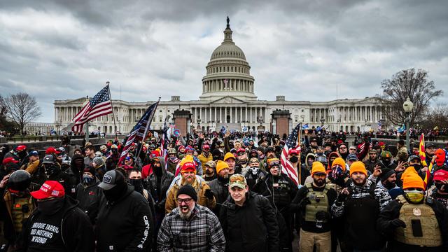 Capitol Hill Arrests