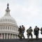 National Guard members are pictured near the U.S. Capitol Hill, ahead of U.S. President-elect Joe Biden's inauguration, in Washington