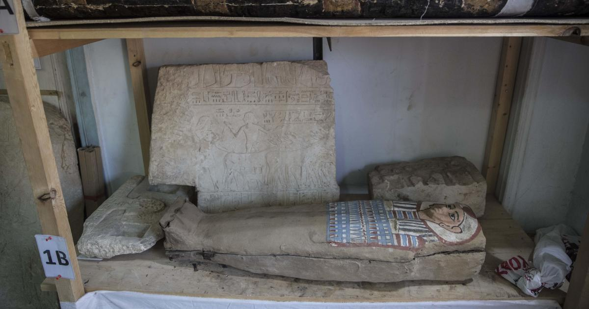4,200-year-old queen's identity among remarkable new finds in Egypt