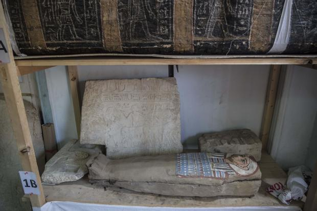 EGYPT-ARCHAEOLOGY-HERITAGE-ANTIQUITIES
