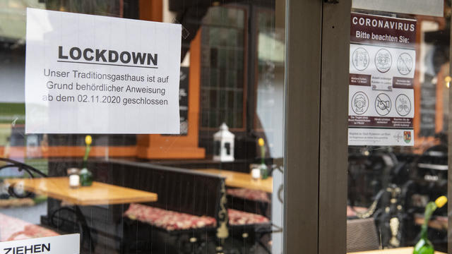 Coronavirus - Lockdown in the tourism hotspot Rüdesheim