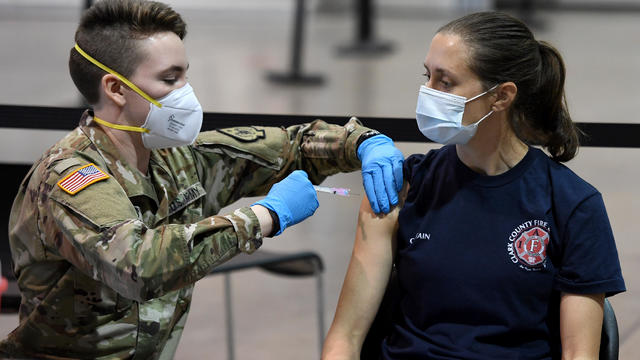 Pilot Vaccination Program Begins In Nevada's Populous Clark County