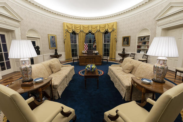 Biden White House Oval Office