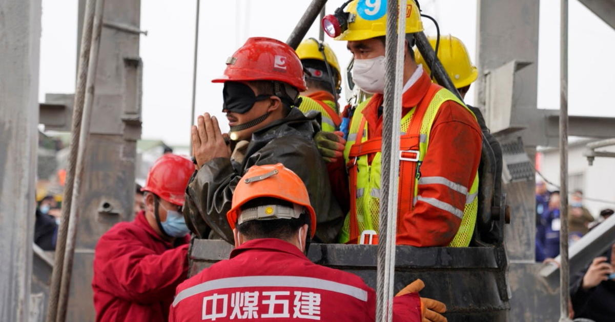 11 miners rescued from Chinese gold mine – CBS News