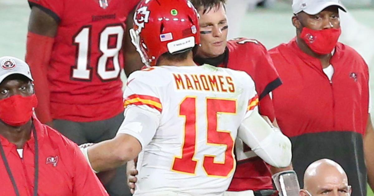 Super Bowl LV will be a generational showdown between Tom Brady and Patrick Mahomes - CBS News