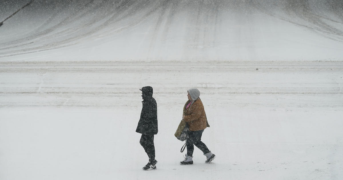 """""""Historic snow"""" from major winter storm closes some Midwest COVID testing sites and disrupts travel"""