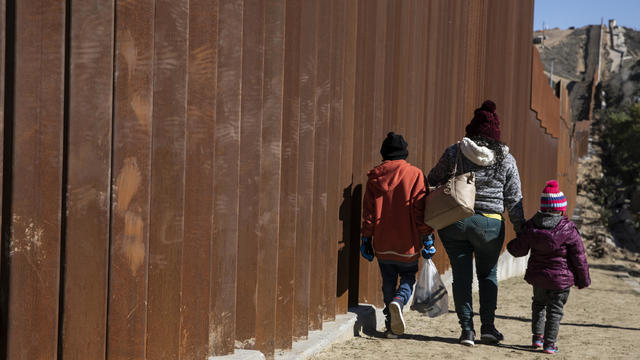 Migrant Caravan Camps in Tijuana Near US Border