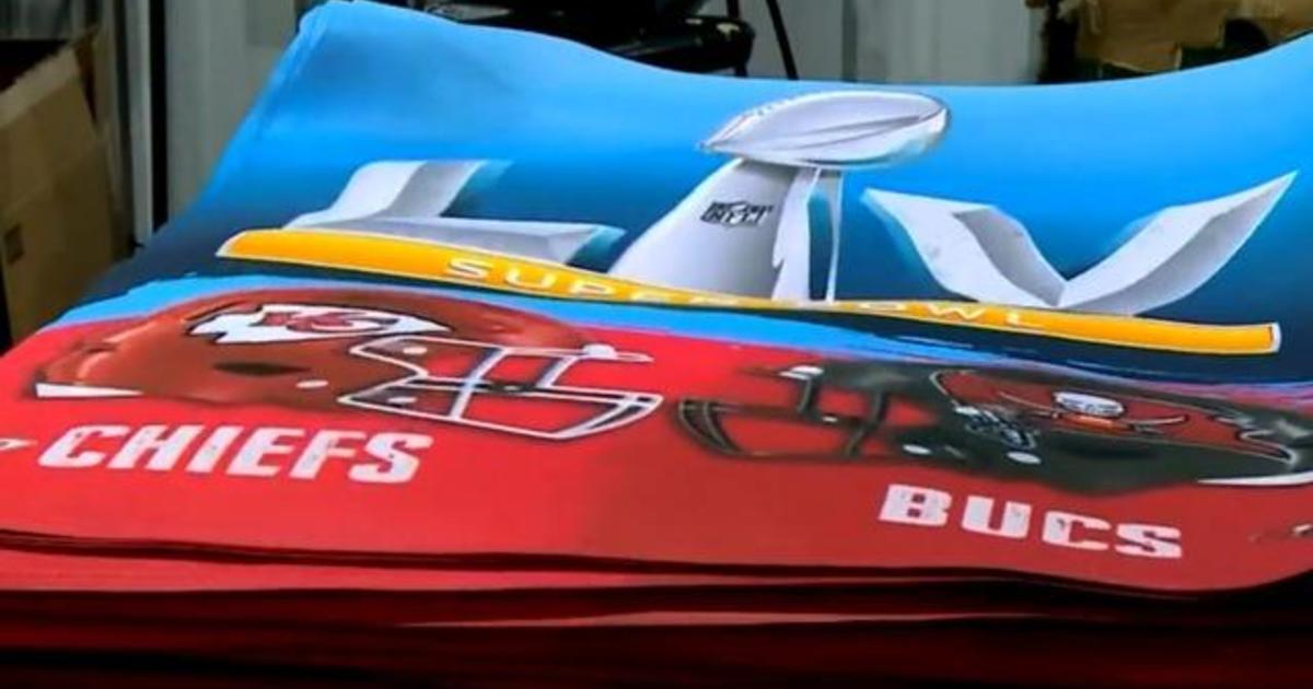Minnesota company making Super Bowl products