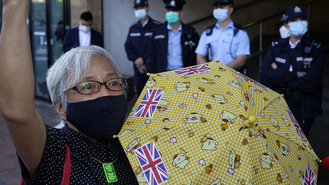 Hong Kong China Detained