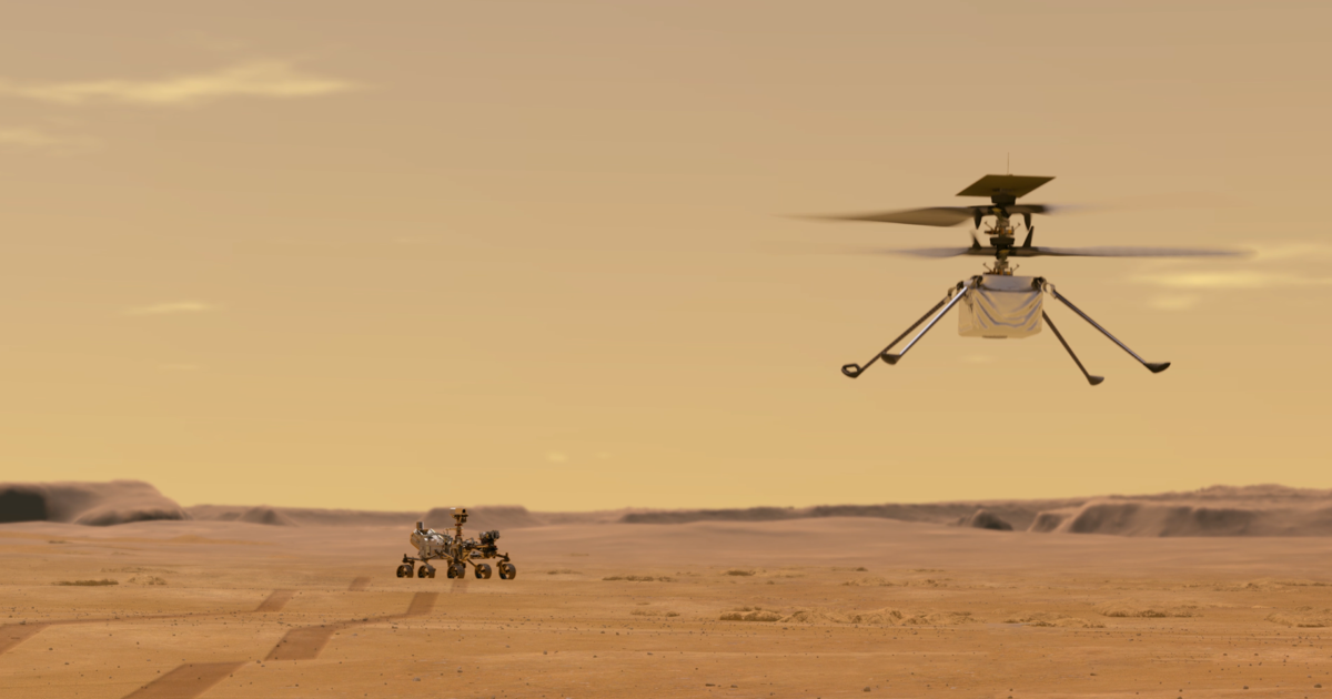 Everything to know about NASA's Mars Ingenuity helicopter — the first to fly on another planet - CBS News