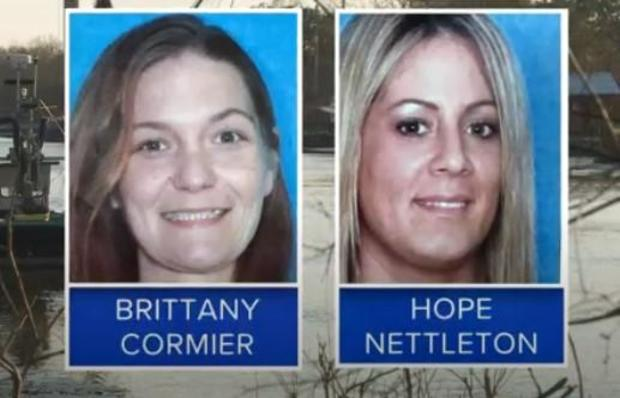 Neither Brittany Cormier, left, nor Hope Nettleton was the person that the hit men had been hired to kill on January 13, the Terrebonne Parish Sheriff's Office said.