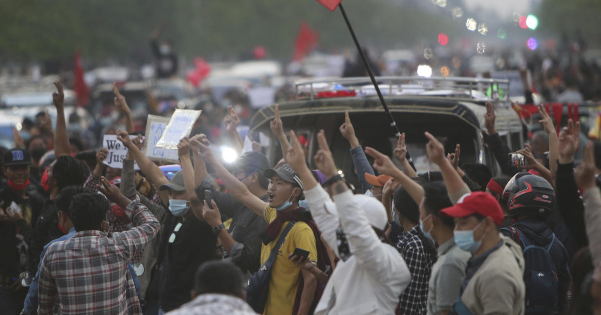 """Myanmar coup leaders threaten """"action"""" to quell mounting protests"""