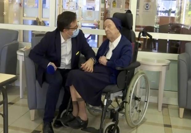 Virus Outbreak France Oldest Survivor