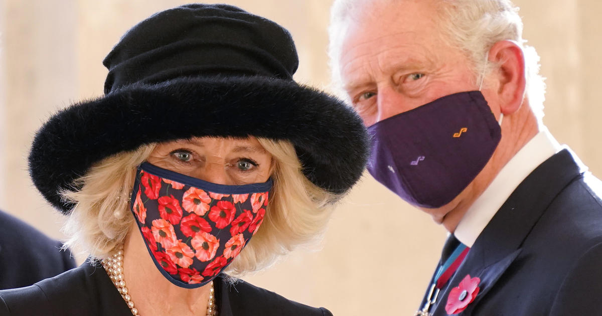 Prince Charles and Camilla receive their first COVID vaccines