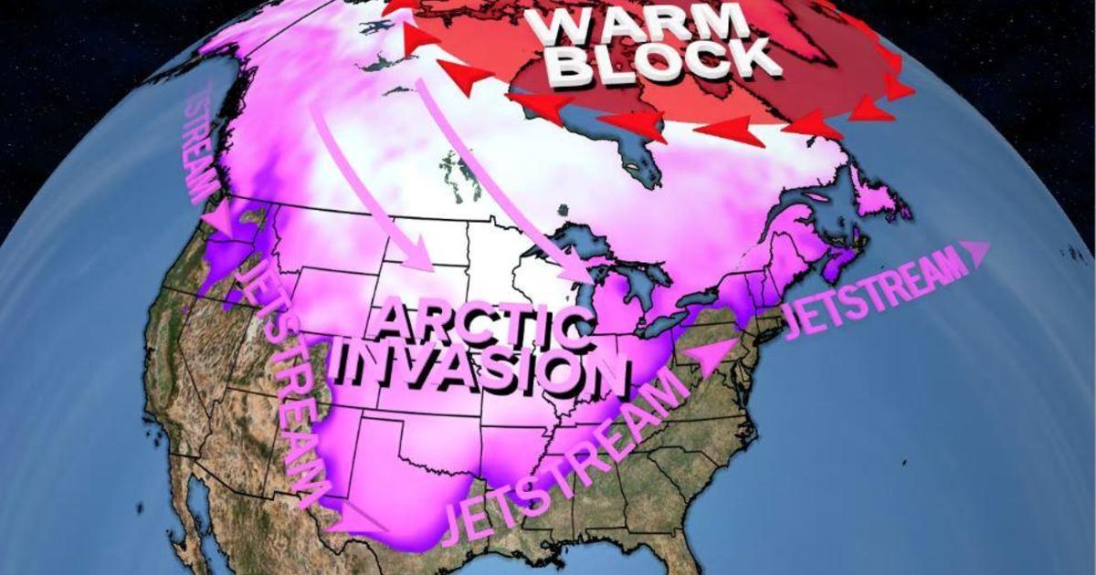 Pusaran kutub untuk melepaskan ledakan Arktik yang membekukan thumbnail