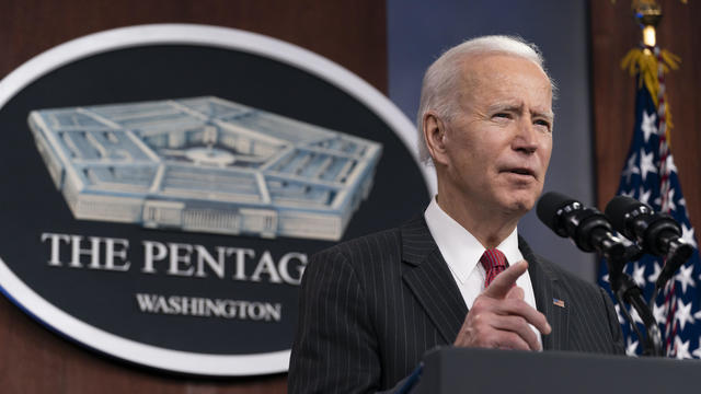President Biden And Vice President Harris Visit The Pentagon