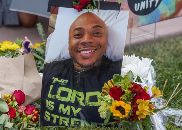 Protest Over Killing of Black Homeless Man