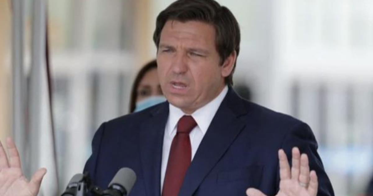 Florida Governor Ron DeSantis faces criticism over COVID-19 vaccine distribution – CBS News
