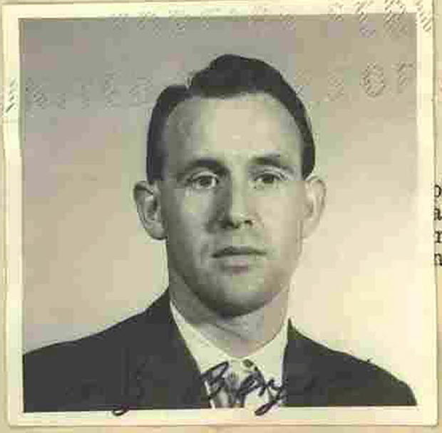 Friedrich Karl Berger poses in a photograph dated 1959 and released by the U.S. Department of Justi