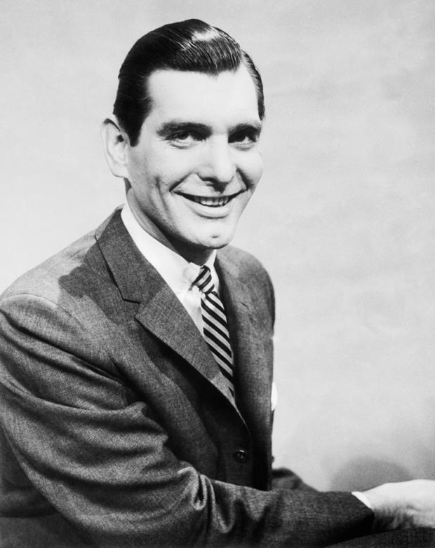 Portrait of Emcee Sonny Fox Smiling and Wearing Suit and Tie