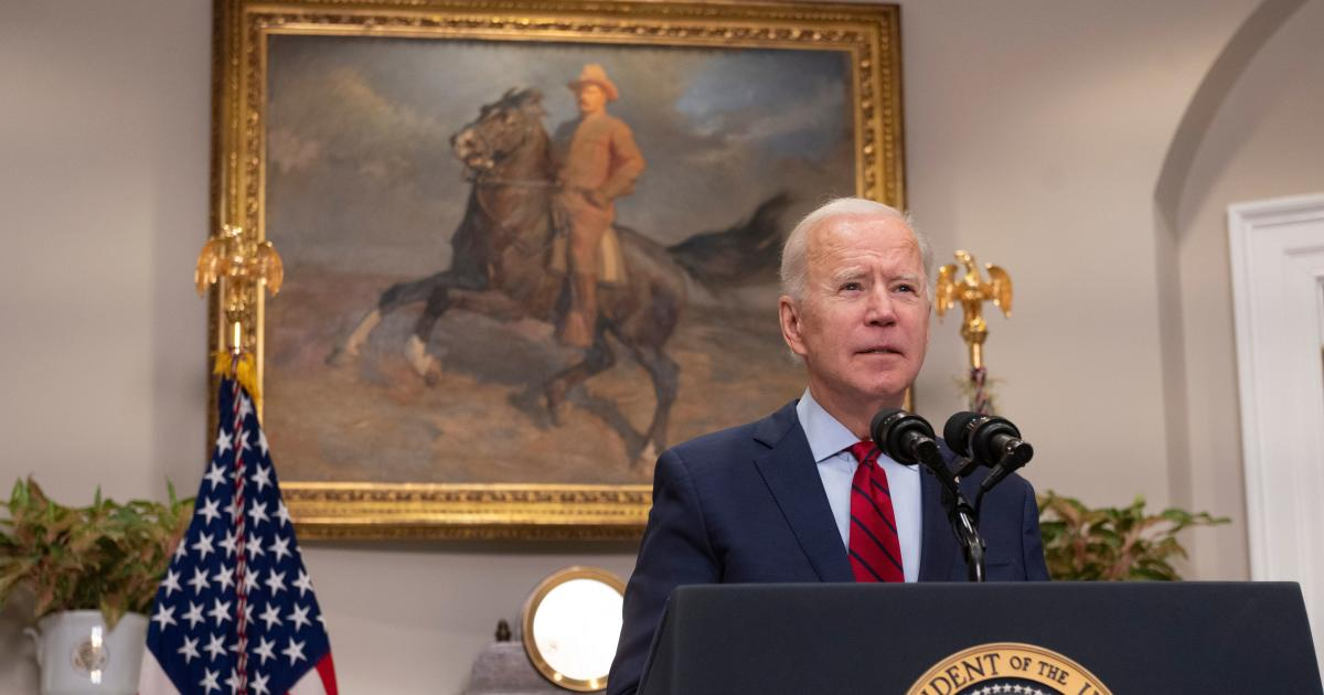 Biden says U.S. will have enough COVID vaccine supply for all adults by end of May