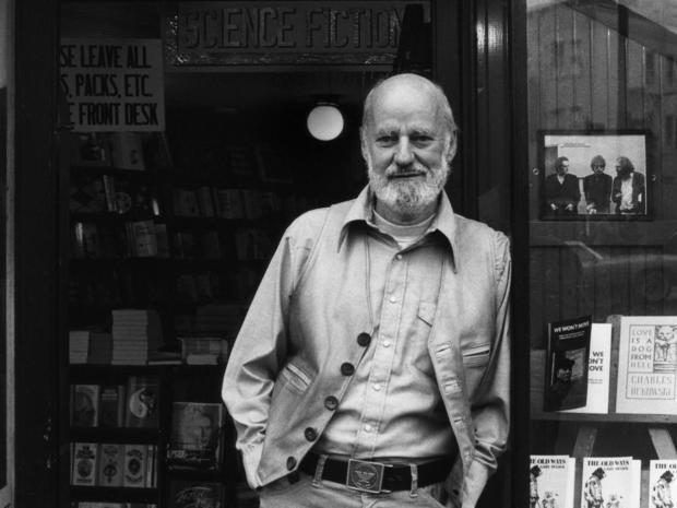 Lawrence Ferlinghetti At City Lights