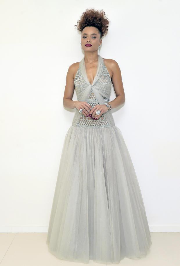Chanel - Golden Globe Awards 2021 - Andra Day