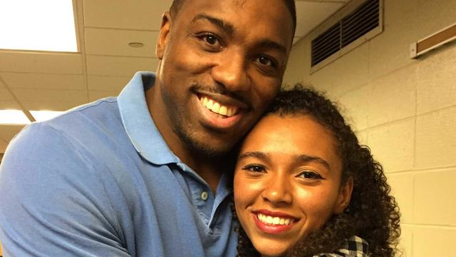 Walt Harris and Aniah Blanchard