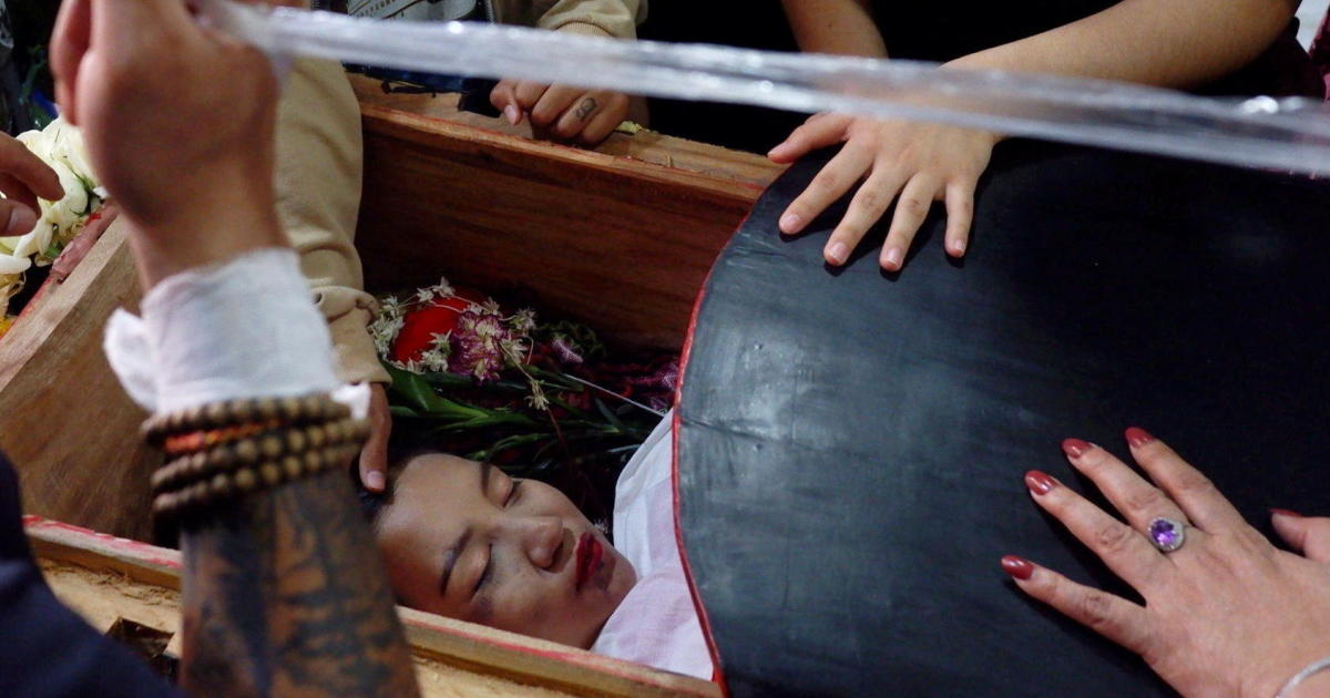"""Myanmar protesters suffer """"bloodiest day"""" since military coup as 38 killed by security forces"""