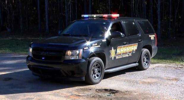 Macon County crime scene