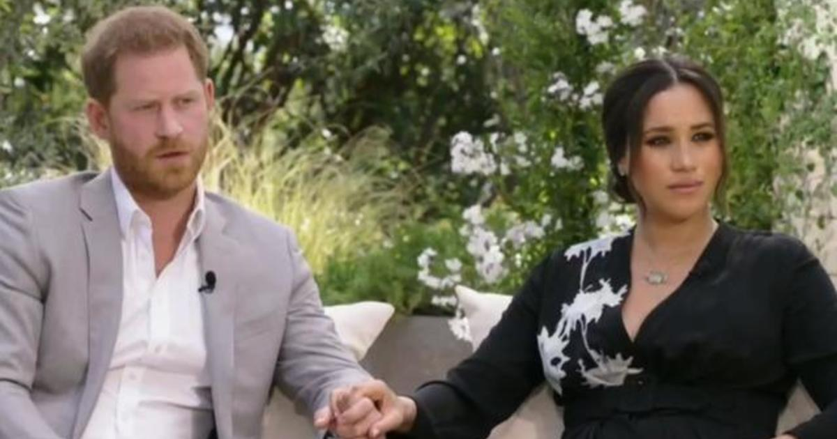 British press up in arms over Meghan and Harry interview with Oprah – CBS News