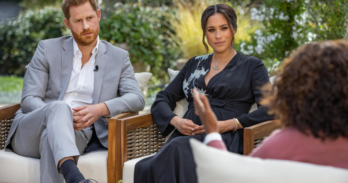 How to watch Oprah Winfrey's interview with Prince Harry and Meghan Markle - CBS News
