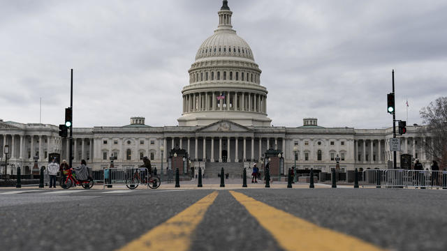Senate Returns To Capitol Hill To Resume Debate On Overriding Veto Of NDAA