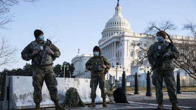 Capitol Hill Security On High Alert After Reports Of Possible Violence From QAnon Conspiracists