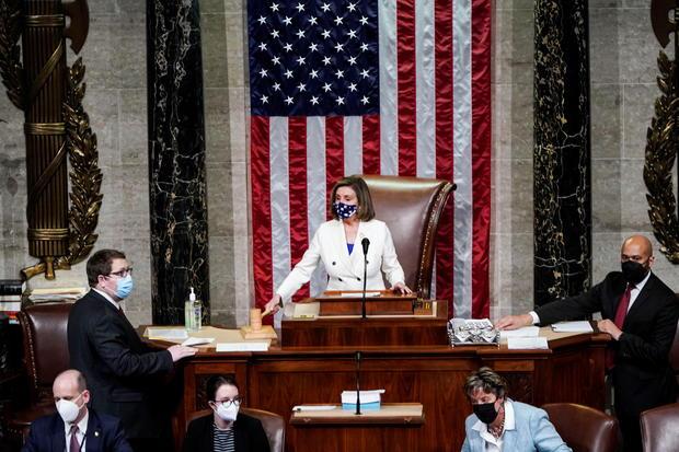 U.S. House of Representatives votes on coronavirus disease (COVID-19) relief bill on Capitol Hill in Washington