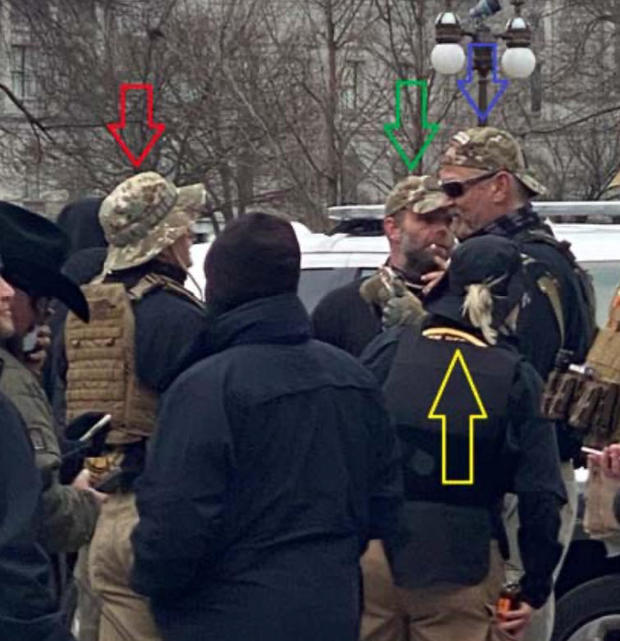 Oath Keepers suspects