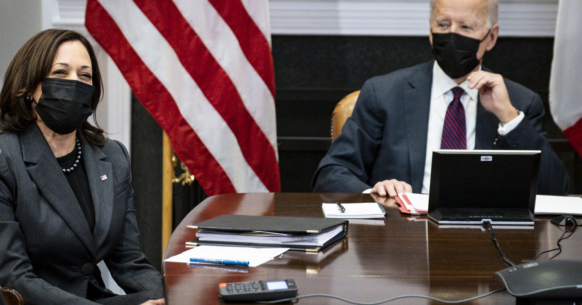Biden and Harris to go on the road to plug COVID aid package