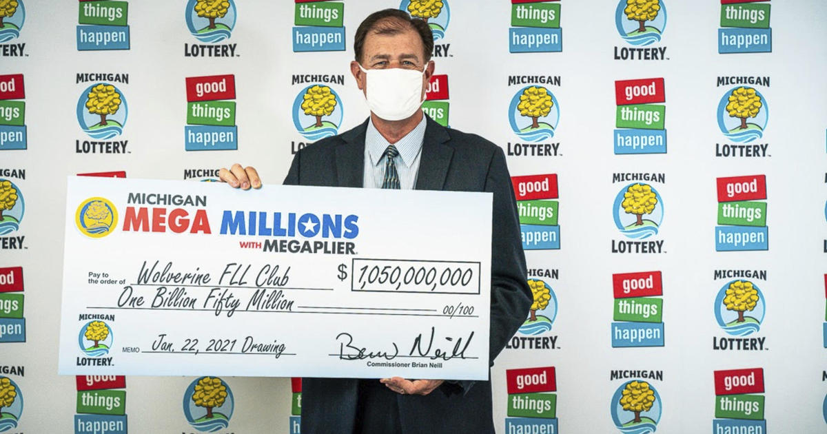 4 people in Michigan claim record $1.05 billion Mega Millions prize - CBS News