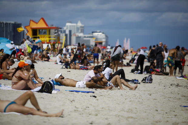 Miami On High Alert For Spring Break