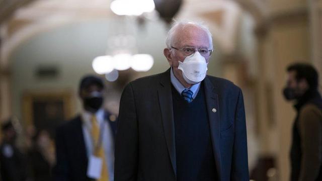 Bernie Sanders, Feb. 13, 2021